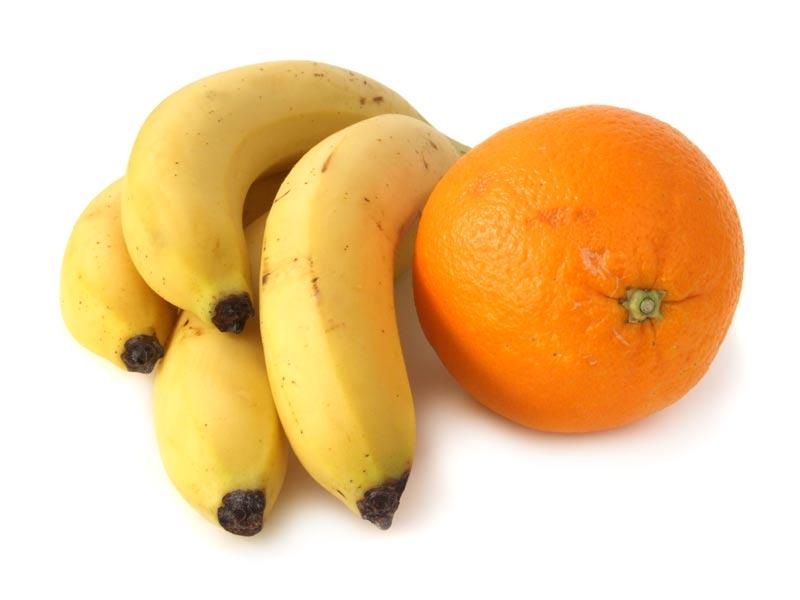 Simsalaseo als Banane und Orange