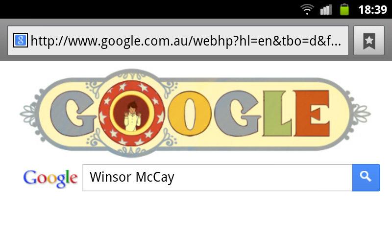 google-doodle winsor mccay nemo
