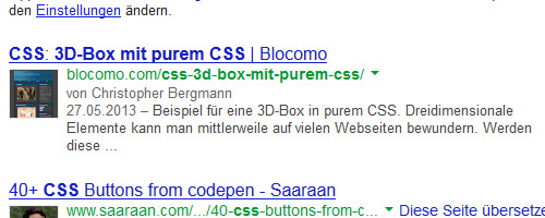 Google Authorship: Erkennbare Person?