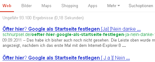 Ohne Google Authorship :-(