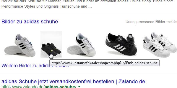 Googlesuche: adidas schuhe (Bilderbox)