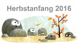 Herbstanfang 2016 (Google-Doodle)