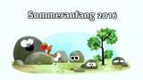 Sommeranfang 2016 (Google-Doodle)