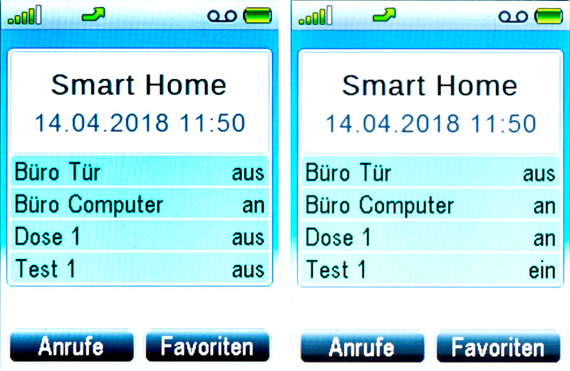Fritz!Fon C4 – Smart Home Display