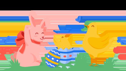 Google Easter-Banner 2020